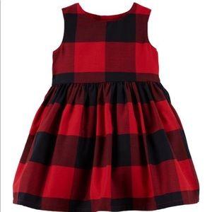 Buffalo Check Holiday Dress